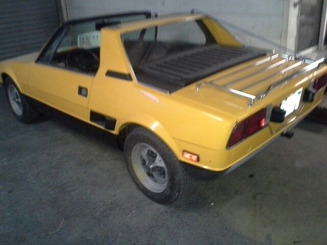 Fiat X19 Electronic Car Body Paint And Interior