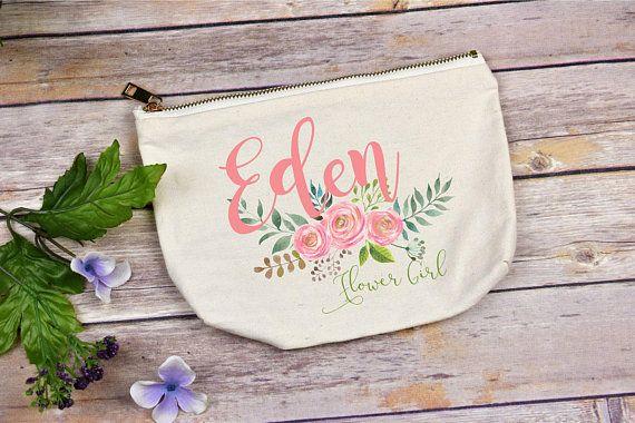 Flower Girl Makeup Bag Gift
