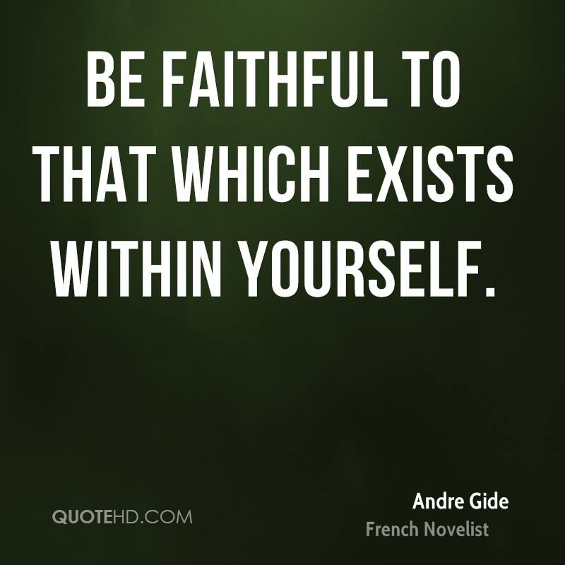 Andre Gide Quote shared from www.quotehd.com