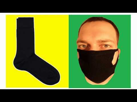 Photo of VIRUS MASK for 2 MINUTES From socks, Do it yourself! How to make a mask. FACE MASK NO SEWING MACHINE
