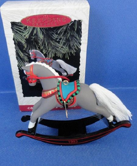 Rocking Horse VINTAGE 1994 HALLMARK ORNAMENT #14 in the Series