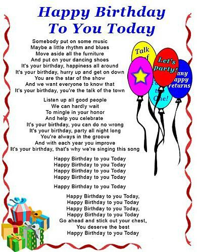 Pin by Deepika Dk on Birthdays | Funny happy birthday song