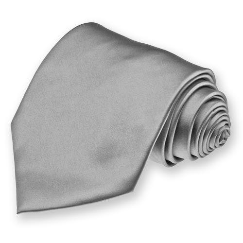 34285dd68763 Mercury Gray Solid Color Neckties | SolidColorNeckTies.com, 50 Shades of  Grey necktie