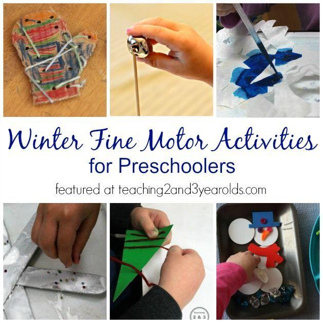Fine Motor Skill Activities For Every Season Winter