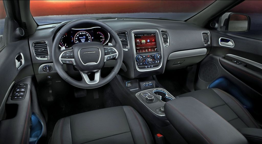 2014 Dodge Durango Rt Cockpit Jpg 1024 564 Dodge Durango Dodge Dakota Dodge
