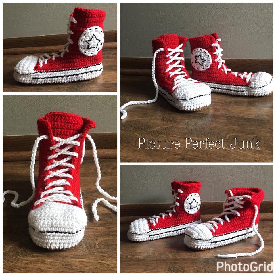 Converse Crochet Pattern Amazing Inspiration Design