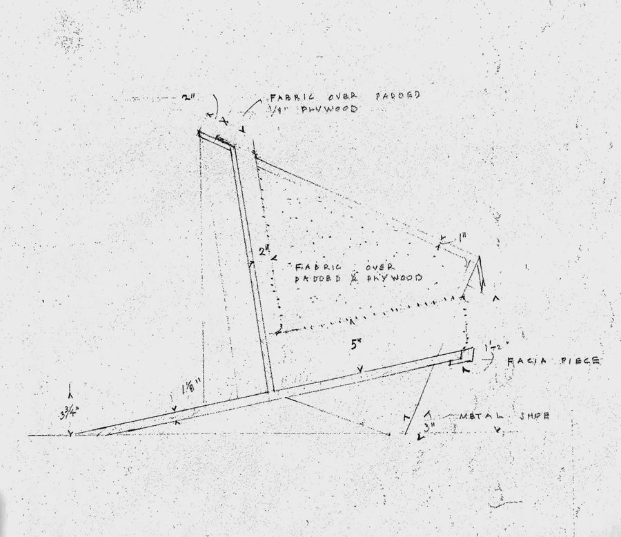 Wright Chat View Topic 1949 Taliesin Origami Chair Dimensions Sketches Drawing Origami Chair Wright Furniture Plans Frank Lloyd Wright Furniture