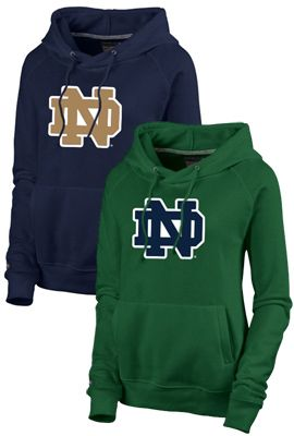 95fe340a5 Product: University of Notre Dame Women's Hooded Sweatshirt | GO ...