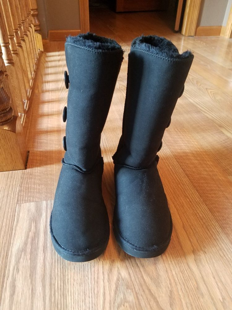 b50c1a7cad6e UGG Australia Button Triplet Womens Sheepskin Boots Size 8  fashion   clothing  shoes  accessories  womensshoes  boots (ebay link)