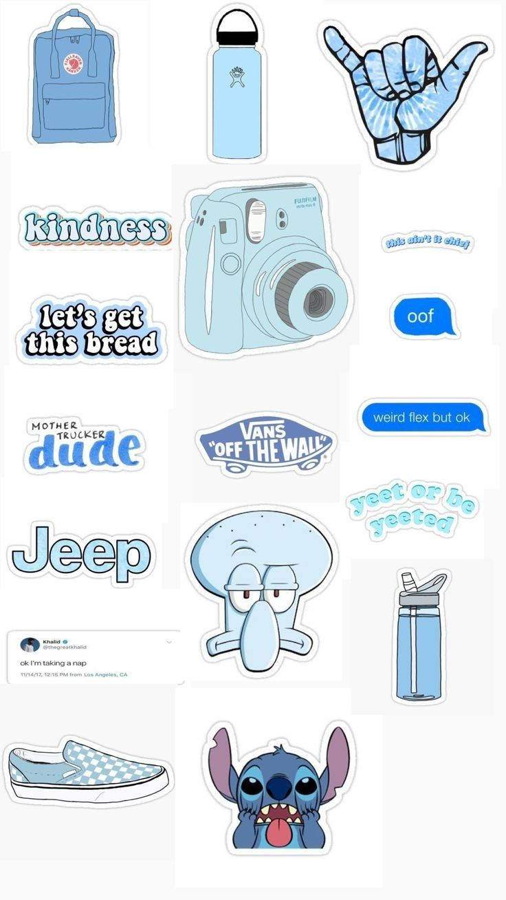 Pin By Vieyla Thatvihane On Stickers Aesthetic Stickers Tumblr