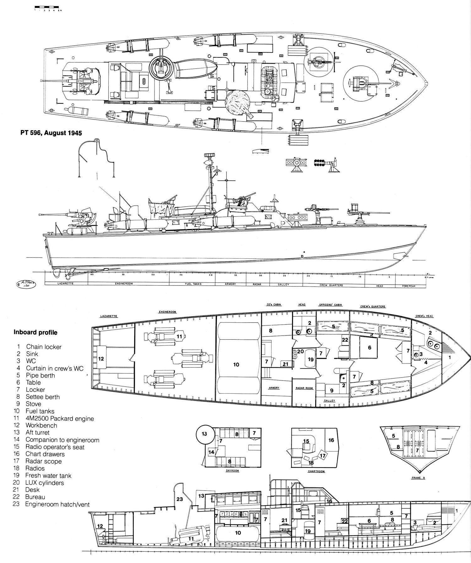 pin by ed hart on brown water pt boat boat drawing boat plans pt boat schematics [ 1500 x 1792 Pixel ]