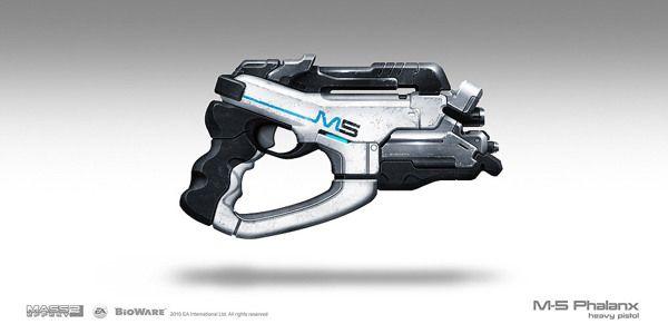 Mass Effect Weapons by Brian Sum, via Behance