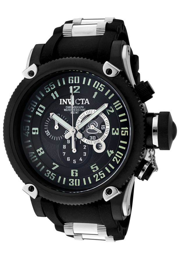 Price:$199.00 #watches Invicta 0517, With a bold, masculine design, Invicta chronograph has a poised and calm ambience that's sure to have you looking twice.