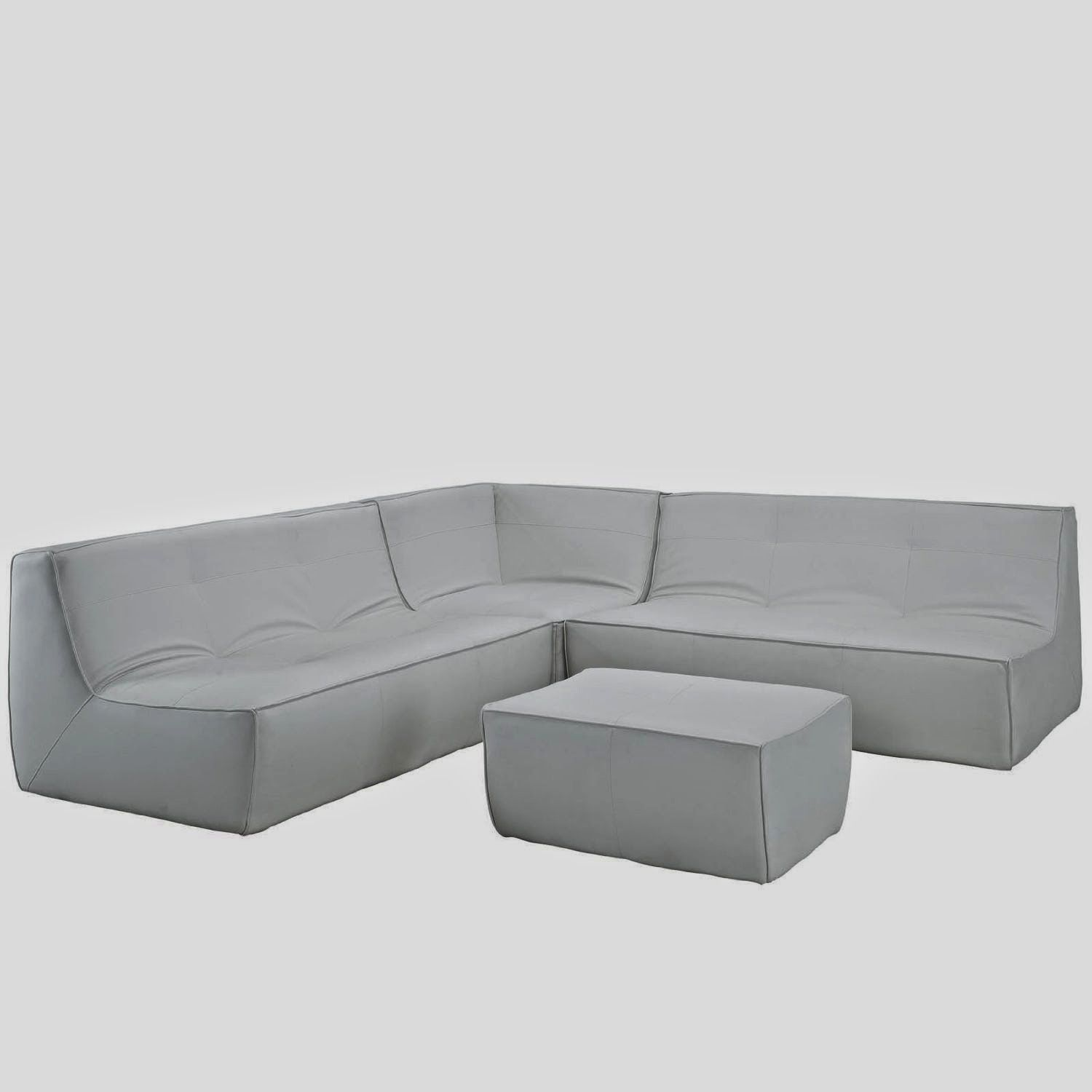Curved White Leather Sofa Home Design Ideas