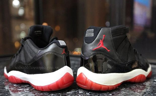 Air-Jordan-11-Low-Black-Varsity-Red | Shoe la la la