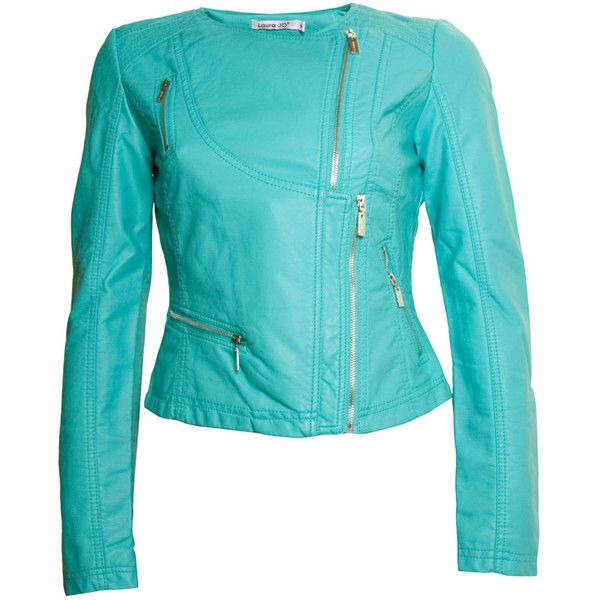 Laura Jo Green Jacket ($91) ❤ liked on Polyvore
