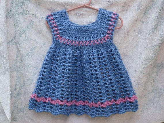 Powder Toddler Girls Dress CROCHET PATTERN | Stricken