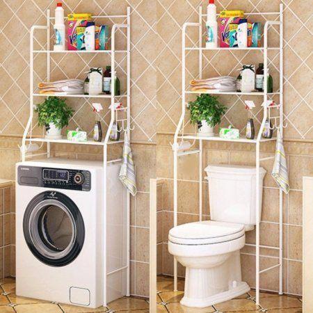 Toilet Shelf 3 Tiers Mainstays Bathroom Space Saver Towel Organizer Over The To Prateleiras Para Banheiro Reforma Banheiro Pequeno Organizacao Para O Banheiro