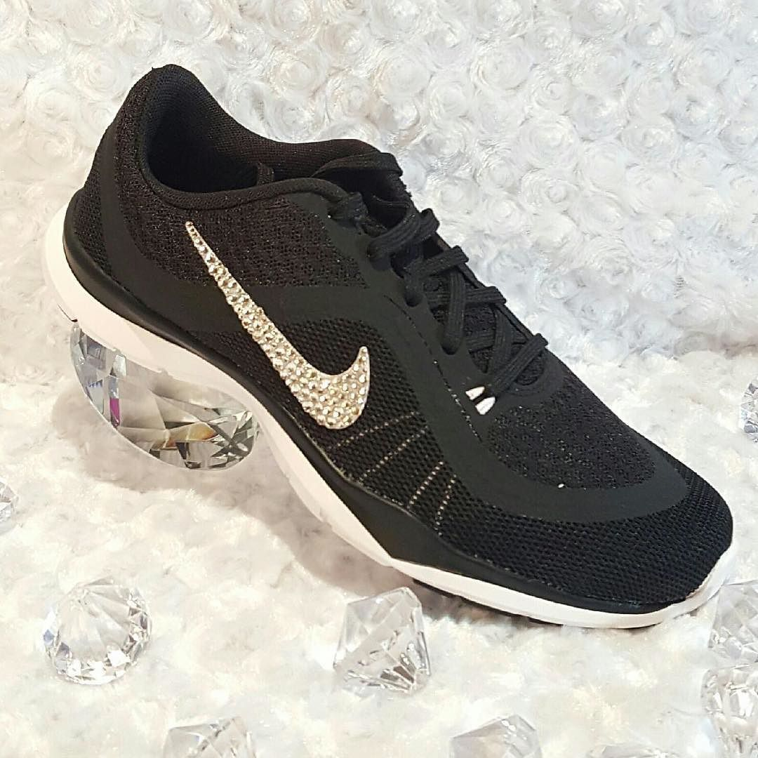 NEW Custom order Women s Nike Flex Trainer 6. DM or leave email w size to  order urs today. Women s Size 5-12 Custom bling Nike s w Swarovski crystal  ... 16c4333b99d9