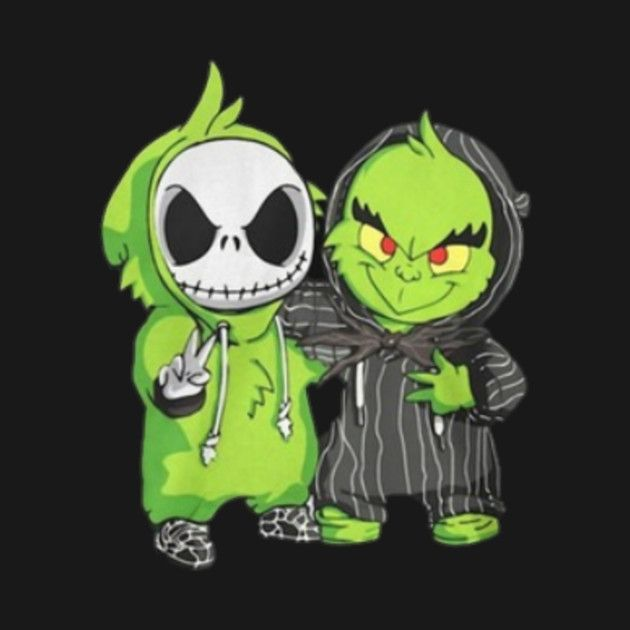 Photo of Check out this awesome 'Jack+Skellington+and+Grinch' design on @T