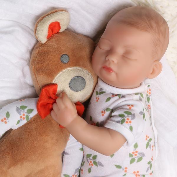 6ca59e5b99f2 Tiny Baby Doll - Bitsy Baby Bear Hugs - 12 inches - Paradise Galleries