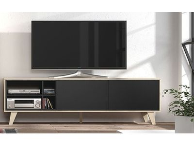 Meuble Tv Domino Avec Images Mobilier De Salon Meuble Meuble Tv