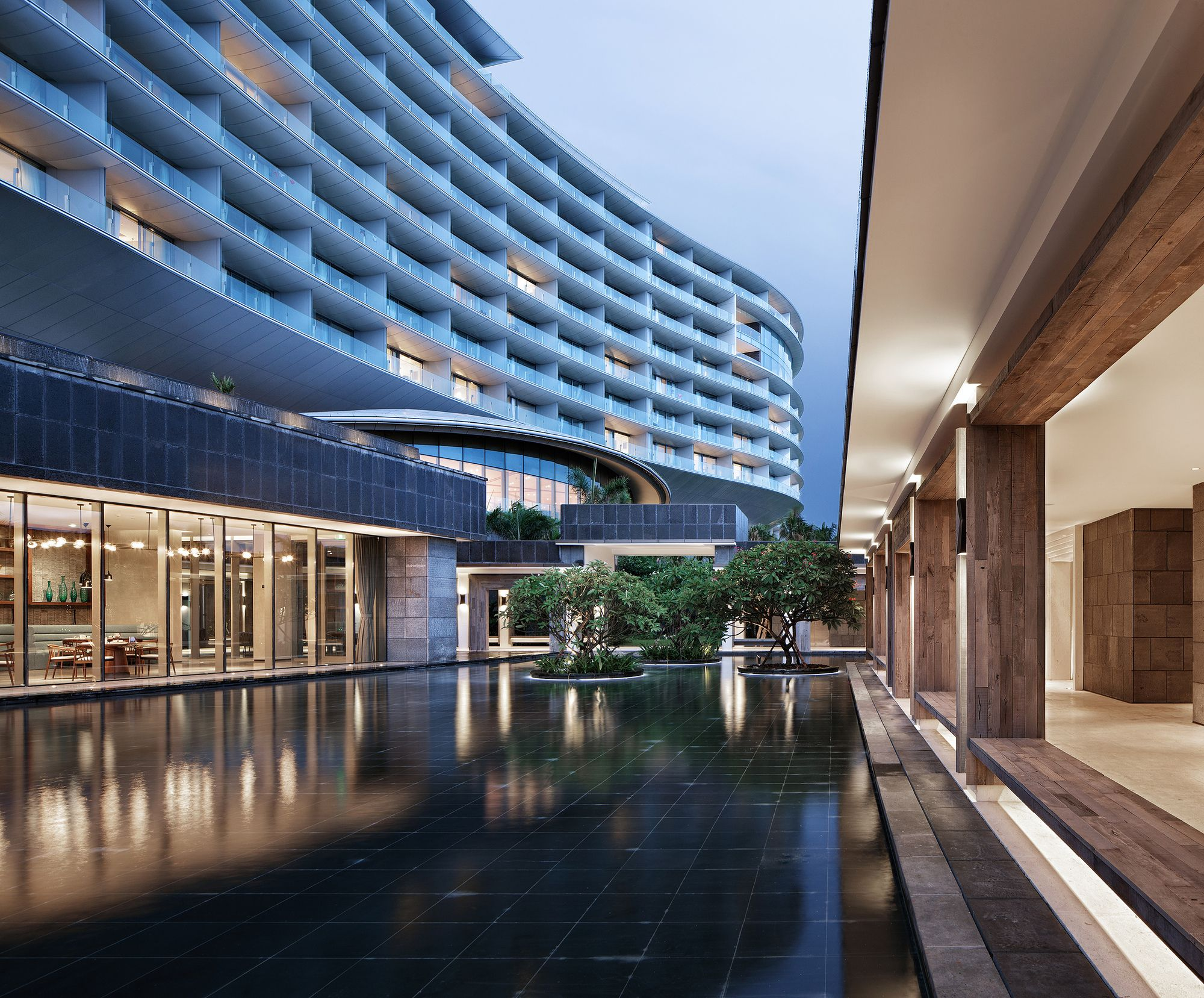 Gallery of hainan blue bay westin resort hotel gad 2 building - Bay architecture ...