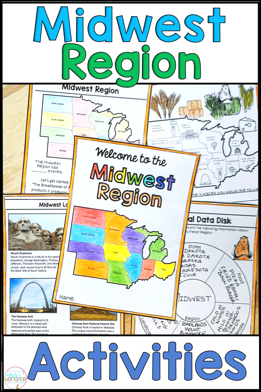 small resolution of Midwest Region   Midwest region