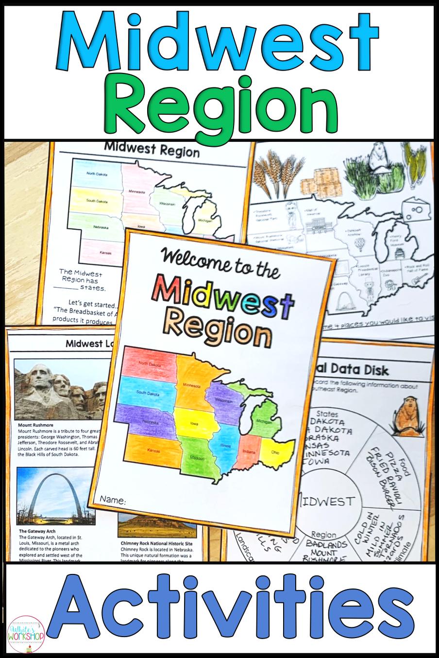 medium resolution of Midwest Region   Midwest region