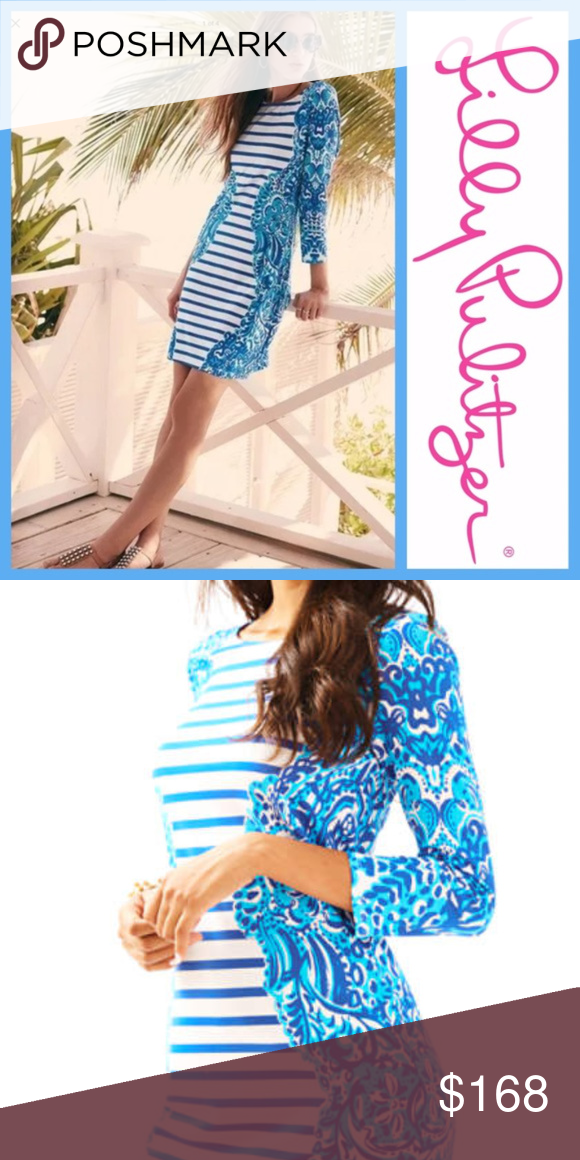 72514a070c2a15 NWT Lilly Pulitzer Nila Dress Moon Jellies Stripe Brand new Lilly Pulitzer  Nila dress. Color