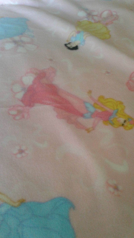 Disney princess fleece fleece fabric cinderellasnow white