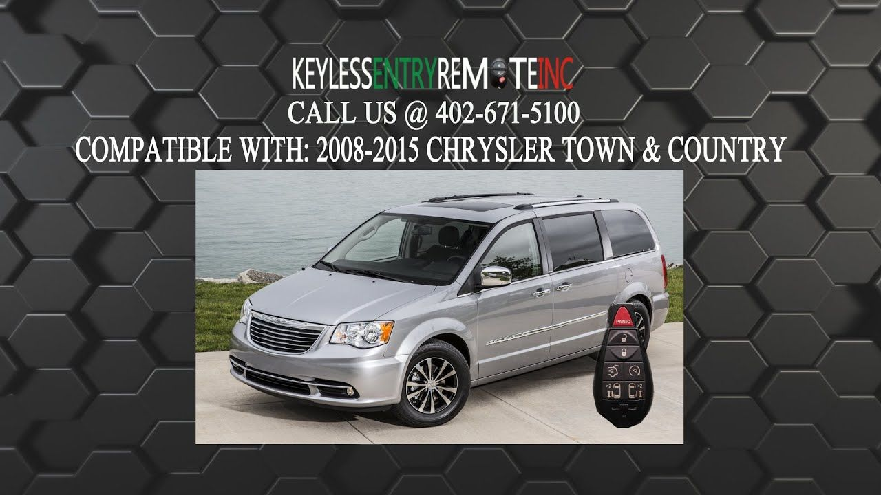 chrysler town and country 2012 key fob battery