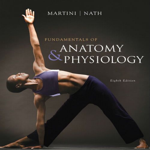 Test Bank for Fundamentals of Anatomy and Physiology 8th Edition by ...