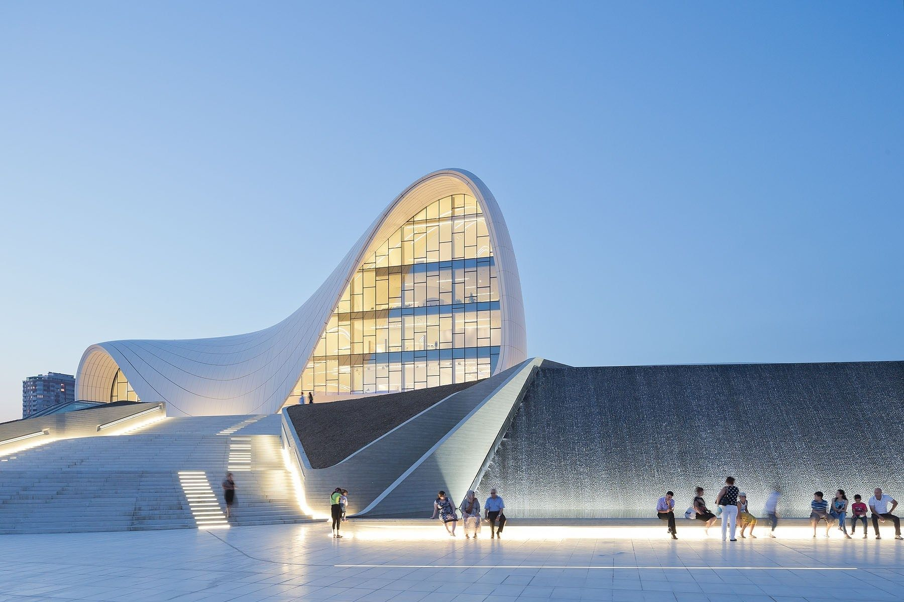 Heydar Aliyev Centre Baku Azerbaijan Zaha Hadid Architects Iwan Baan Zaha Hadid Architecture Zaha Hadid Design Zaha Hadid