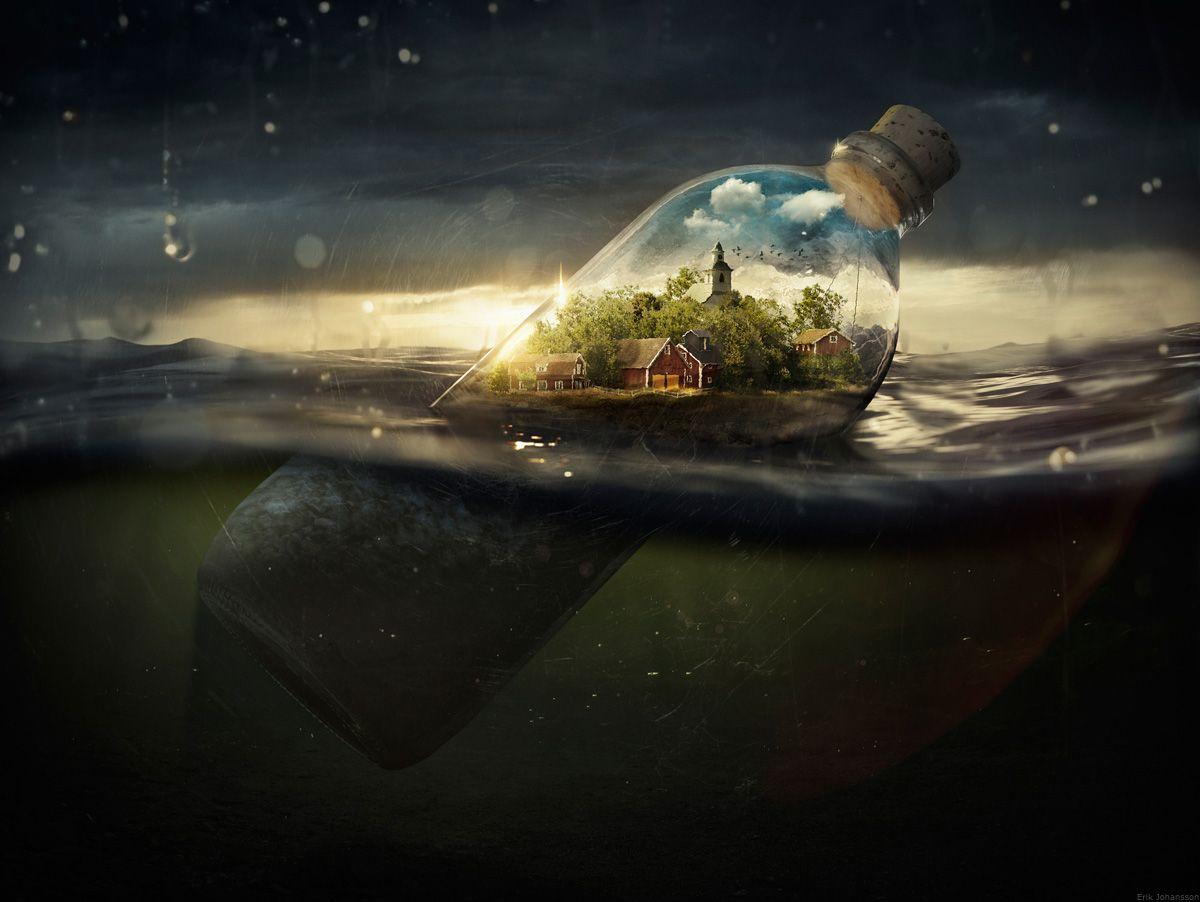 Erik Johansson — Drifting Away