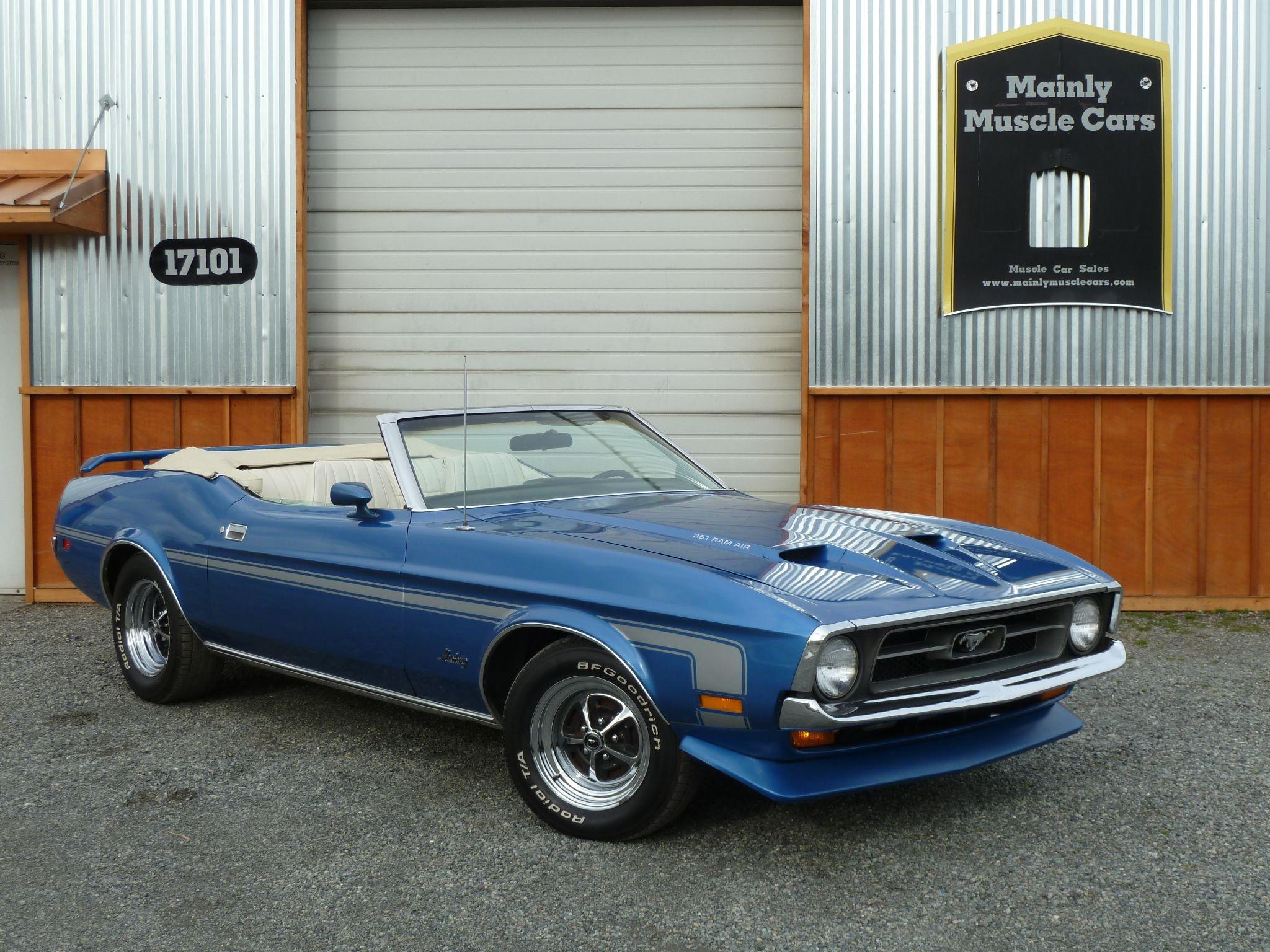 1971 mustang convertible | 1971 Mustang Convertible 351C 4V, Auto ...