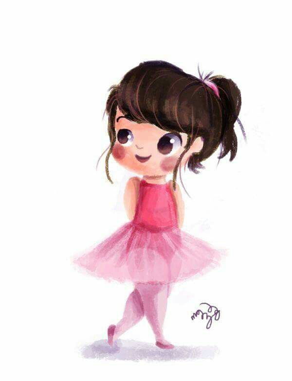 Digital Painting With Images Little Girl Illustrations