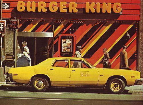 Burger King 70s Burger King Vintage Restaurant Burger