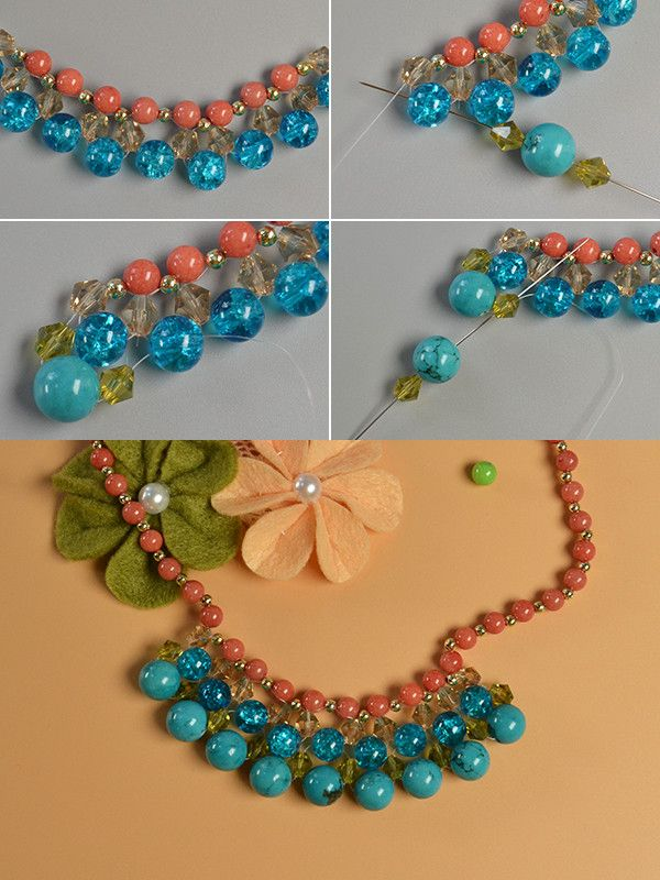 4c177c40171b LC.Pandahall.com will publish the turquoise beads necklace making tutorial.