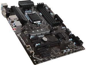 Msi Z270 A Pro Lga 1151 Atx Intel Motherboard Newegg Com Motherboard Gigabyte Intel