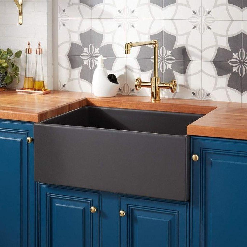Best farmhouse sink kitchen design ideas frugal living