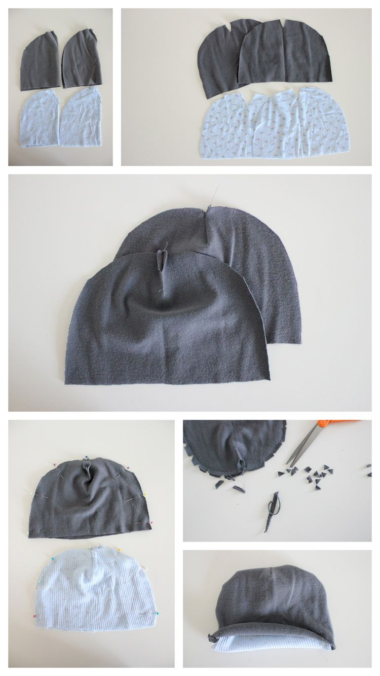 Ribbed Beanie Free Pattern and Tutorial | Baby | Pinterest | Costura ...