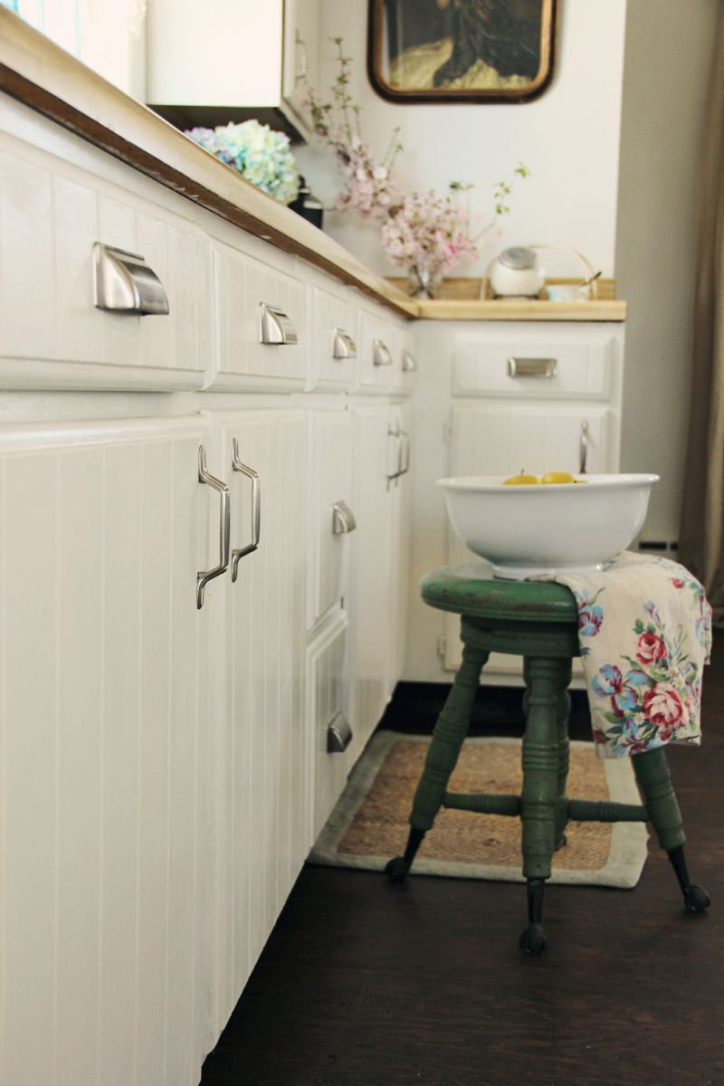 Pretty Petals Painting Kitchen Cabinets Kitchen Cabinets Painted Before And After Kitchen Cabinets