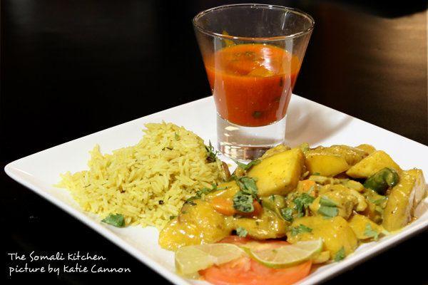 The Somali Kitchen Mango Chicken Mango Chicken Curry African Food