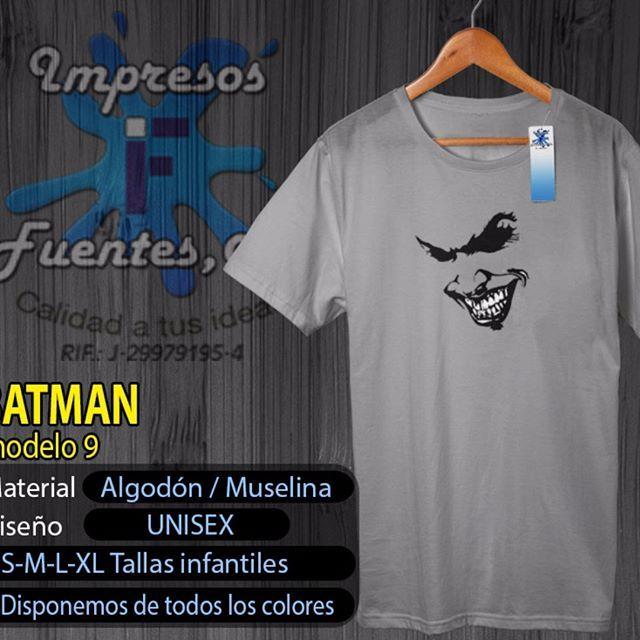 #franelas #joker #villanos #personalizadas #megusta #vendemos #like #comodin #batman