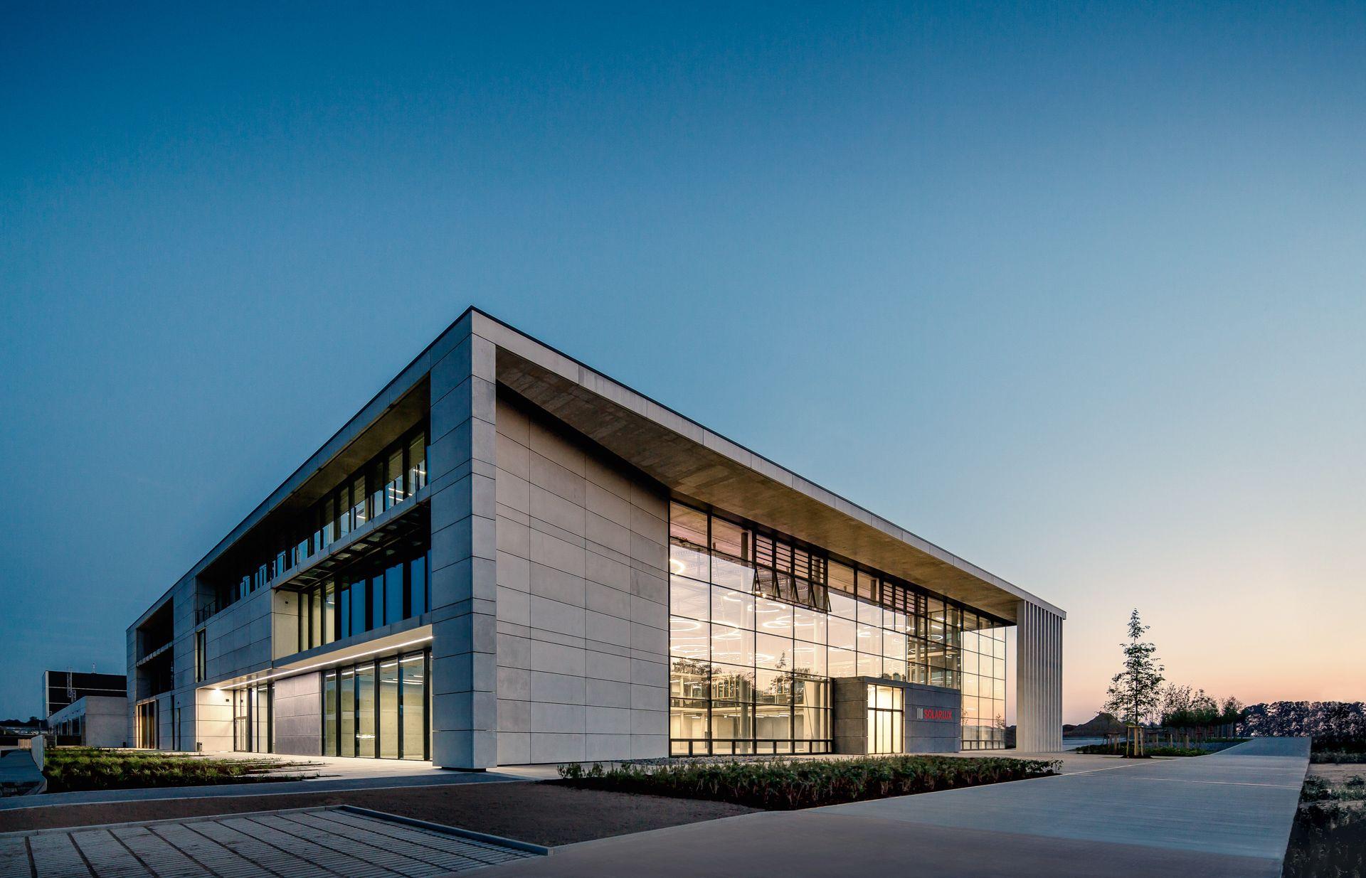 Solarlux Melle der 2016 eröffnete solarlux cus in melle architecture