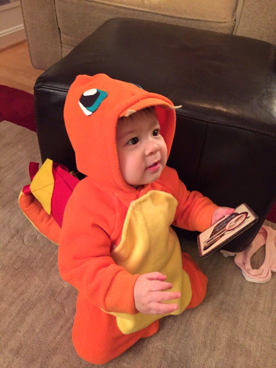Charmander Baby Costume Made Grandma Alex Seems Having