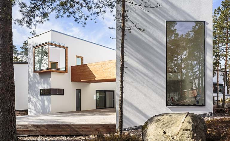 Sanaksenaho Architects' latest house in Finland is small but perfectly formed