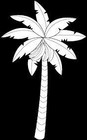 Resultado De Imagem Para Banana Tree Cartoon Tree Drawing Coconut Tree Drawing Cartoon Drawings