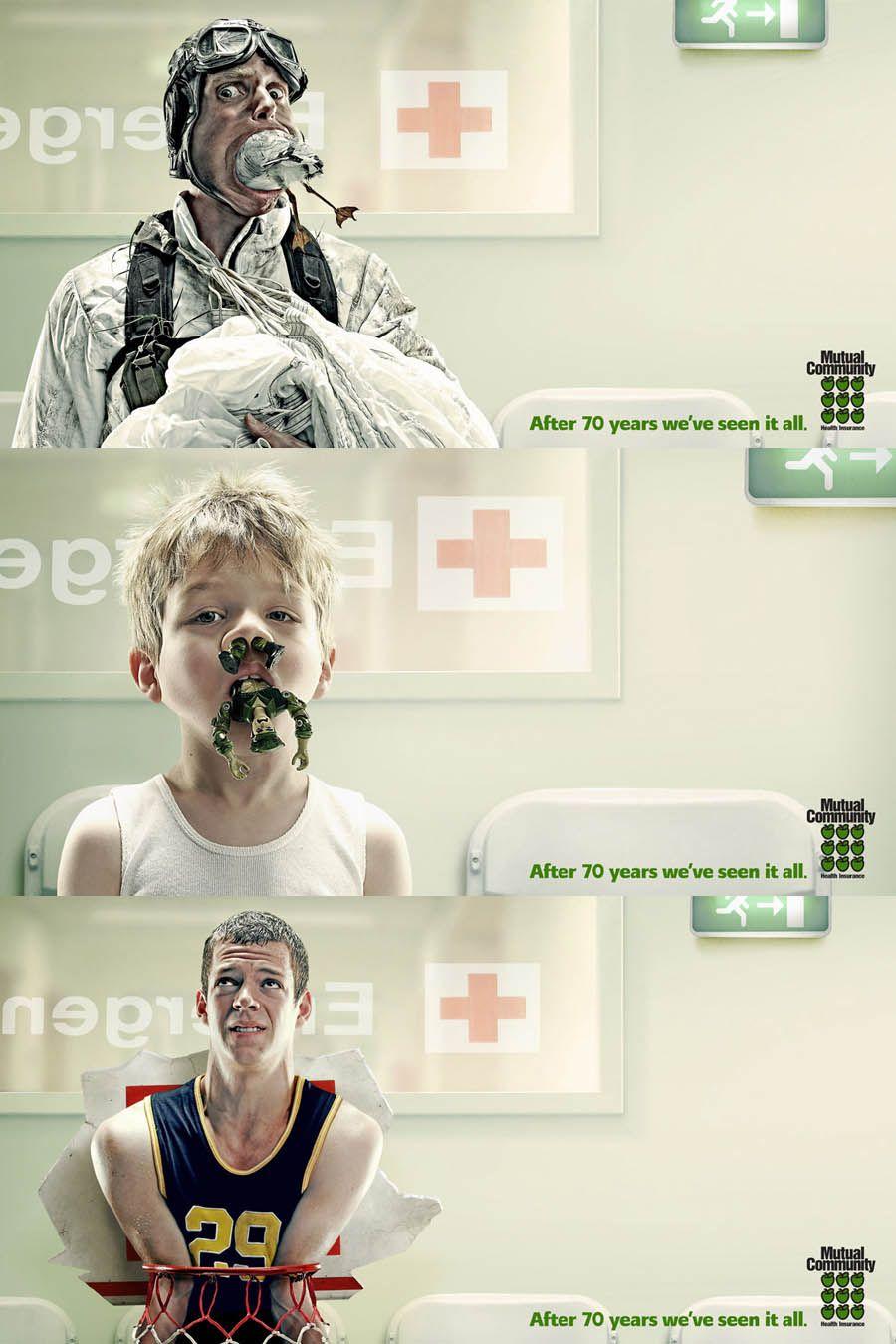 Health insurance company ads | Salud y seguridad, Salud ...